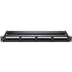 D-Link NPP-C61BLK241 Cat6 UTP Keystone 24 Port Patch Panel